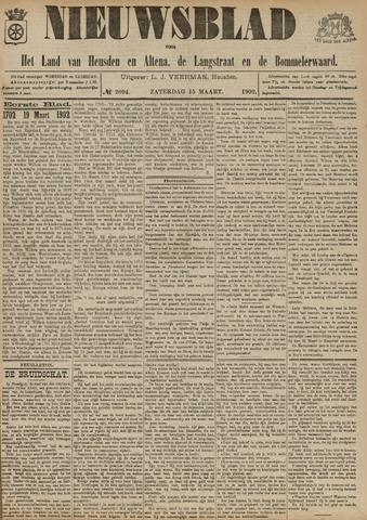 Nieuwsblad het land van Heusden en Altena de Langstraat en de Bommelerwaard 1902-03-15