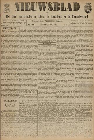 Nieuwsblad het land van Heusden en Altena de Langstraat en de Bommelerwaard 1895-04-20