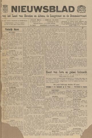 Nieuwsblad het land van Heusden en Altena de Langstraat en de Bommelerwaard 1949-01-03