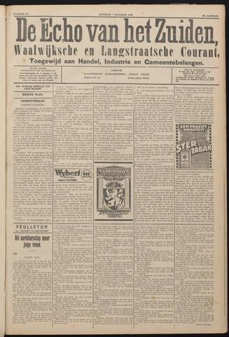 Echo van het Zuiden 1925-11-07
