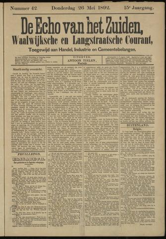 Echo van het Zuiden 1892-05-26
