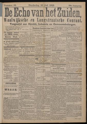 Echo van het Zuiden 1915-07-29
