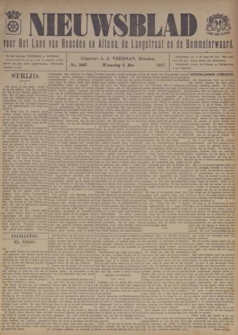 Nieuwsblad het land van Heusden en Altena de Langstraat en de Bommelerwaard 1917-05-02