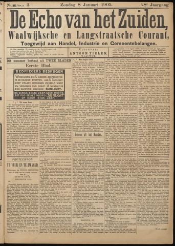 Echo van het Zuiden 1905-01-08