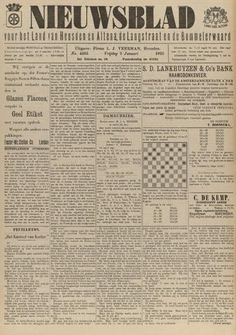 Nieuwsblad het land van Heusden en Altena de Langstraat en de Bommelerwaard 1925-01-02
