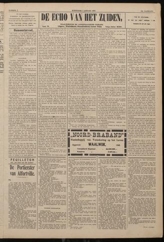 Echo van het Zuiden 1922-01-04