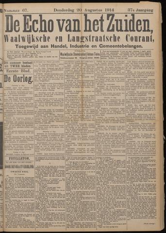 Echo van het Zuiden 1914-08-20