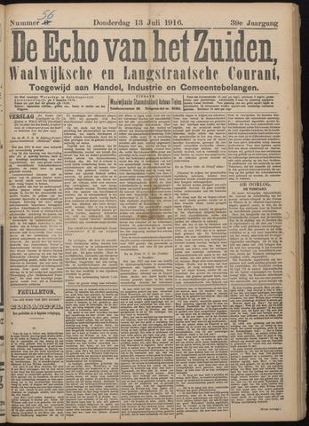 Echo van het Zuiden 1916-07-13