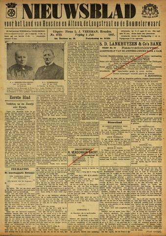 Nieuwsblad het land van Heusden en Altena de Langstraat en de Bommelerwaard 1927-07-01