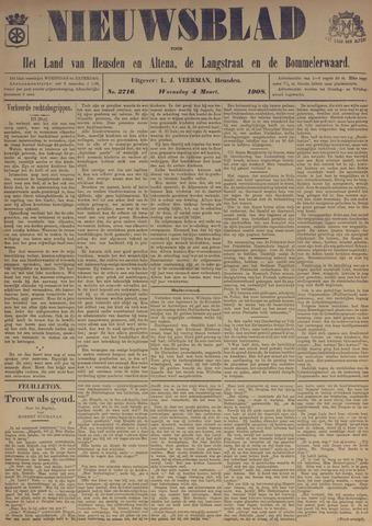 Nieuwsblad het land van Heusden en Altena de Langstraat en de Bommelerwaard 1908-03-04