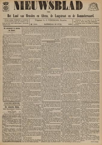 Nieuwsblad het land van Heusden en Altena de Langstraat en de Bommelerwaard 1900-06-30