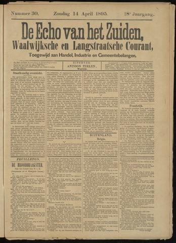 Echo van het Zuiden 1895-04-14