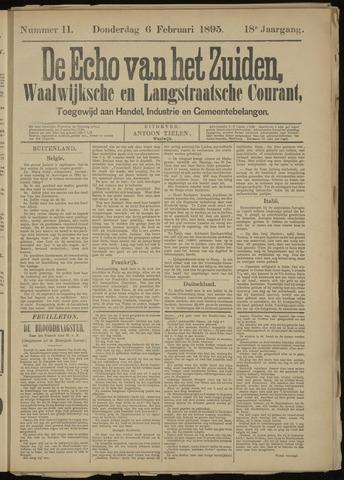 Echo van het Zuiden 1895-02-07