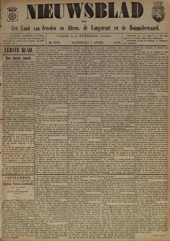 Nieuwsblad het land van Heusden en Altena de Langstraat en de Bommelerwaard 1894-04-07