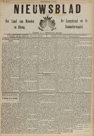Nieuwsblad het land van Heusden en Altena de Langstraat en de Bommelerwaard 1891-07-08