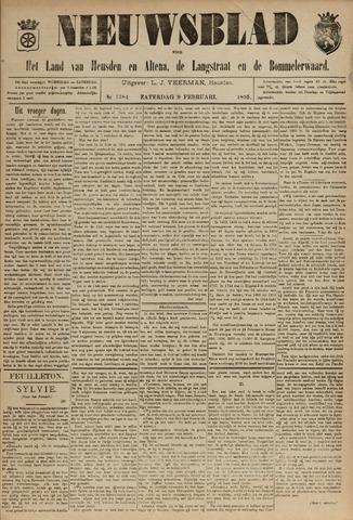 Nieuwsblad het land van Heusden en Altena de Langstraat en de Bommelerwaard 1895-02-09