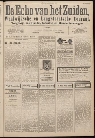 Echo van het Zuiden 1937-09-25