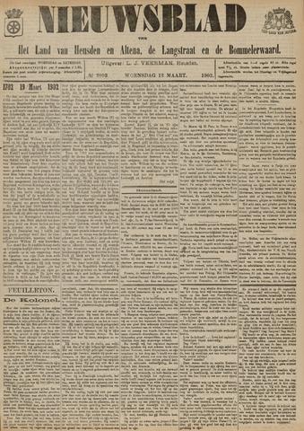 Nieuwsblad het land van Heusden en Altena de Langstraat en de Bommelerwaard 1902-03-12