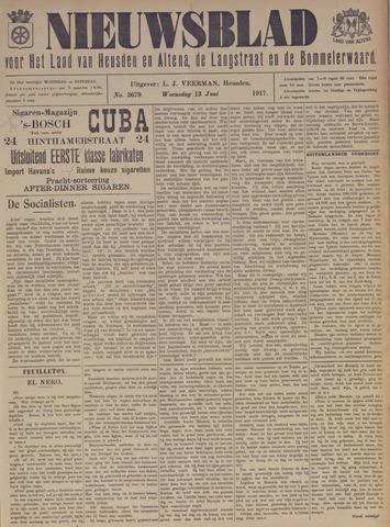 Nieuwsblad het land van Heusden en Altena de Langstraat en de Bommelerwaard 1917-06-13