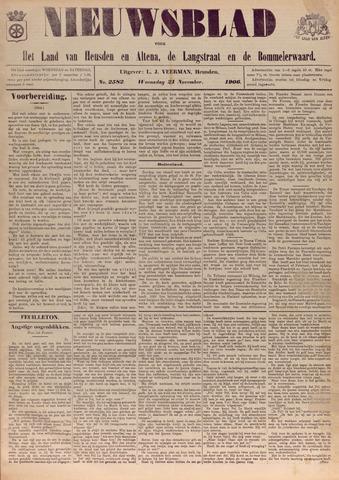 Nieuwsblad het land van Heusden en Altena de Langstraat en de Bommelerwaard 1906-11-21