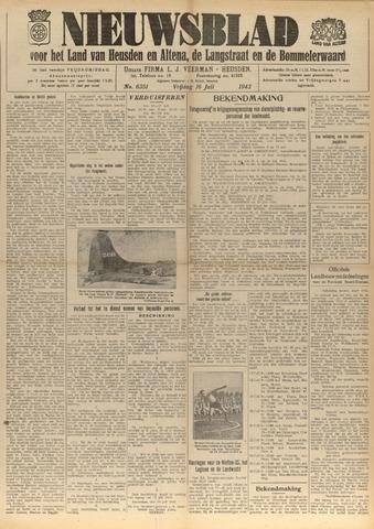 Nieuwsblad het land van Heusden en Altena de Langstraat en de Bommelerwaard 1943-07-16