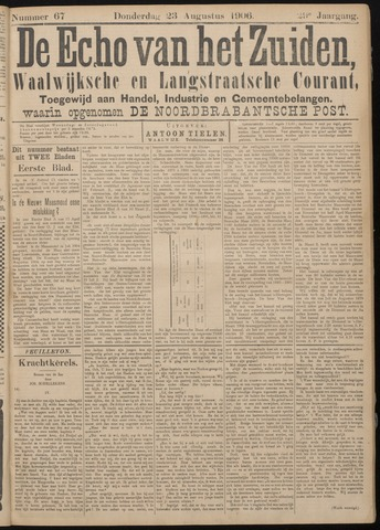Echo van het Zuiden 1906-08-23