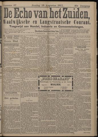 Echo van het Zuiden 1917-08-19