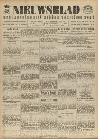Nieuwsblad het land van Heusden en Altena de Langstraat en de Bommelerwaard 1927-09-09
