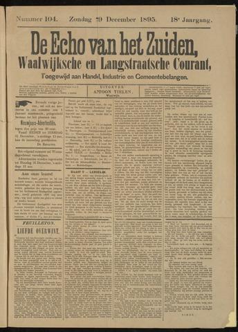Echo van het Zuiden 1895-12-29