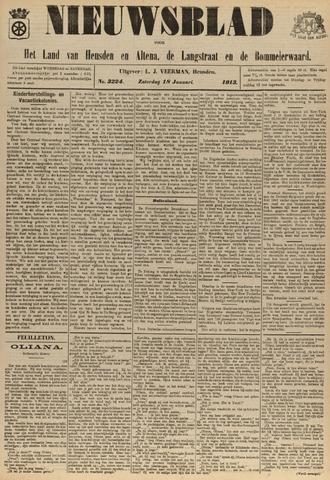 Nieuwsblad het land van Heusden en Altena de Langstraat en de Bommelerwaard 1913-01-18
