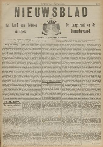 Nieuwsblad het land van Heusden en Altena de Langstraat en de Bommelerwaard 1891-12-02