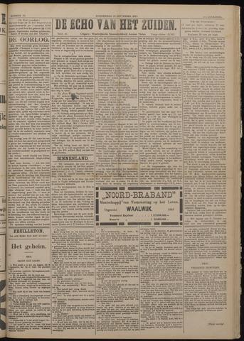 Echo van het Zuiden 1917-09-20