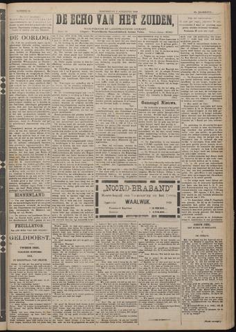 Echo van het Zuiden 1918-08-01