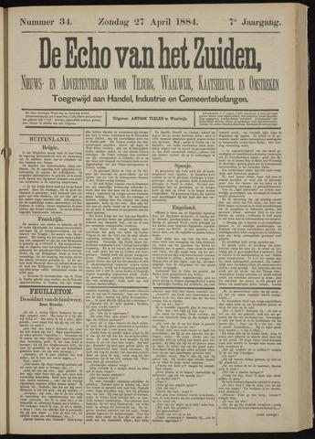 Echo van het Zuiden 1884-04-27
