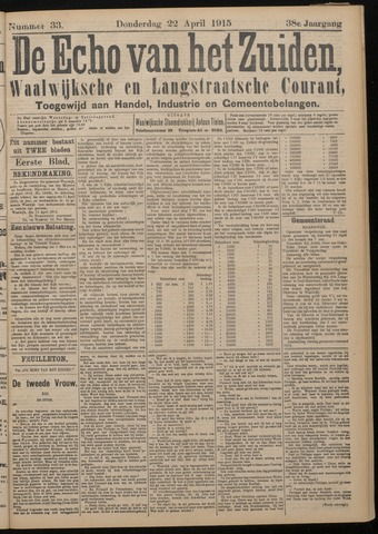 Echo van het Zuiden 1915-04-22