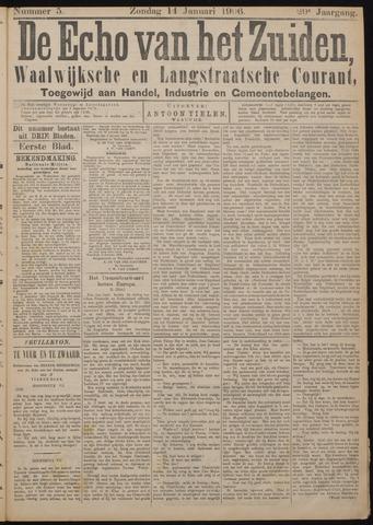 Echo van het Zuiden 1906-01-14