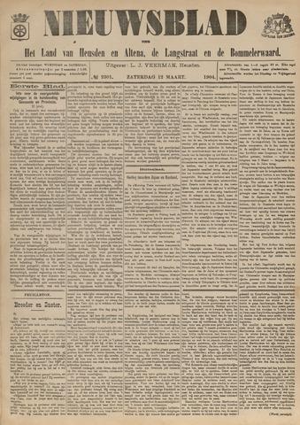 Nieuwsblad het land van Heusden en Altena de Langstraat en de Bommelerwaard 1904-03-12