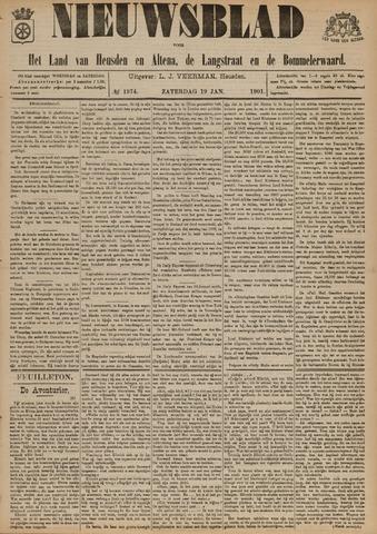 Nieuwsblad het land van Heusden en Altena de Langstraat en de Bommelerwaard 1901-01-19