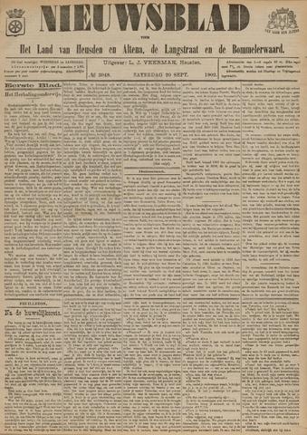 Nieuwsblad het land van Heusden en Altena de Langstraat en de Bommelerwaard 1902-09-20
