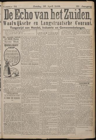 Echo van het Zuiden 1908-04-26