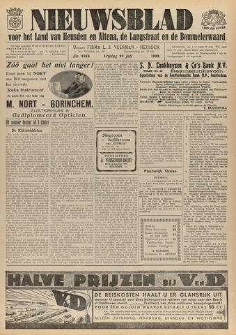 Nieuwsblad het land van Heusden en Altena de Langstraat en de Bommelerwaard 1932-07-29