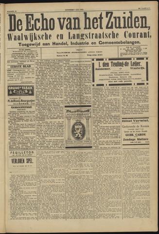 Echo van het Zuiden 1923-07-07