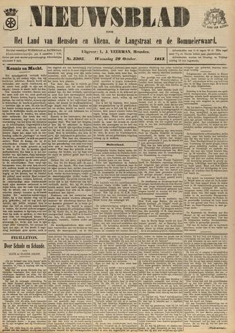 Nieuwsblad het land van Heusden en Altena de Langstraat en de Bommelerwaard 1913-10-29