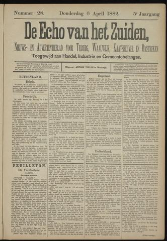 Echo van het Zuiden 1882-04-06