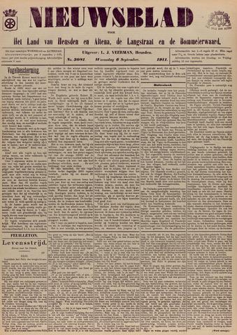 Nieuwsblad het land van Heusden en Altena de Langstraat en de Bommelerwaard 1911-09-06
