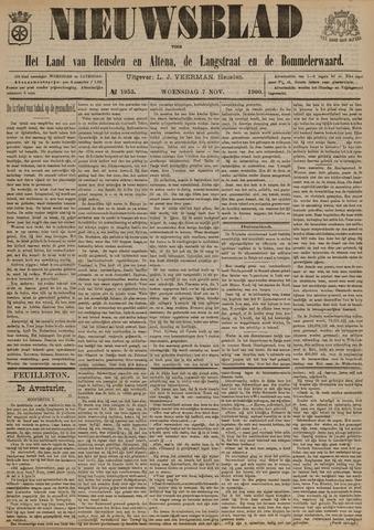 Nieuwsblad het land van Heusden en Altena de Langstraat en de Bommelerwaard 1900-11-07