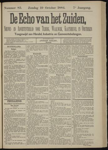 Echo van het Zuiden 1884-10-19