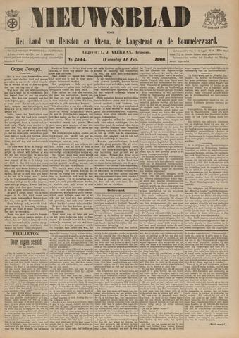 Nieuwsblad het land van Heusden en Altena de Langstraat en de Bommelerwaard 1906-07-11