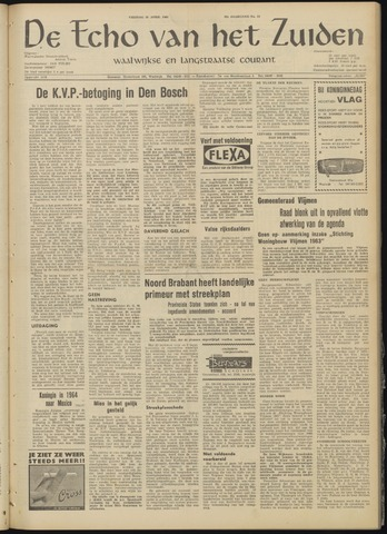 Echo van het Zuiden 1963-04-26