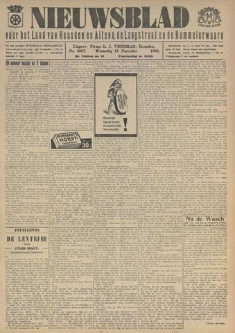 Nieuwsblad het land van Heusden en Altena de Langstraat en de Bommelerwaard 1929-11-13